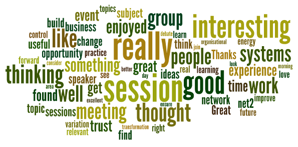 What people say about NET2 meetings